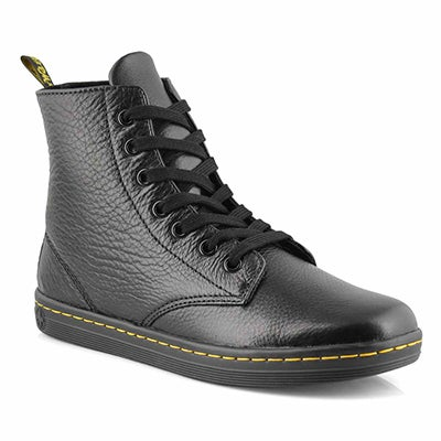 Dr Martens Women's LEYTON black ankle booties