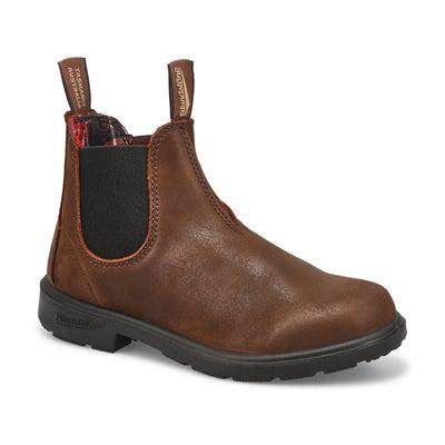 Kds Blunnies antique brn twin gore boot