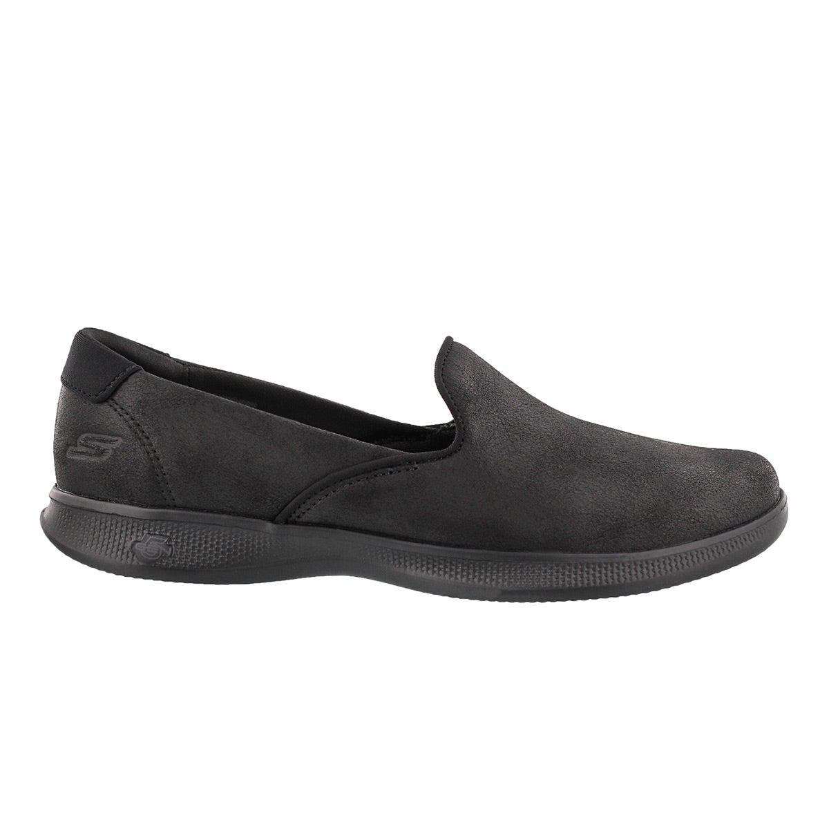 Lds GO Step Lite black casual slip on