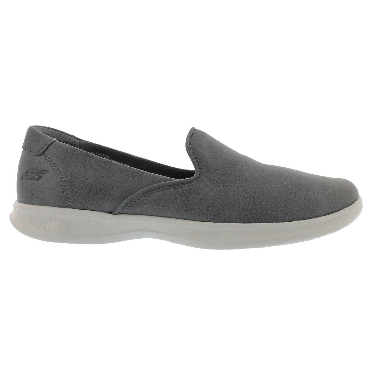 Lds GO Step Lite charcoal casual slip on