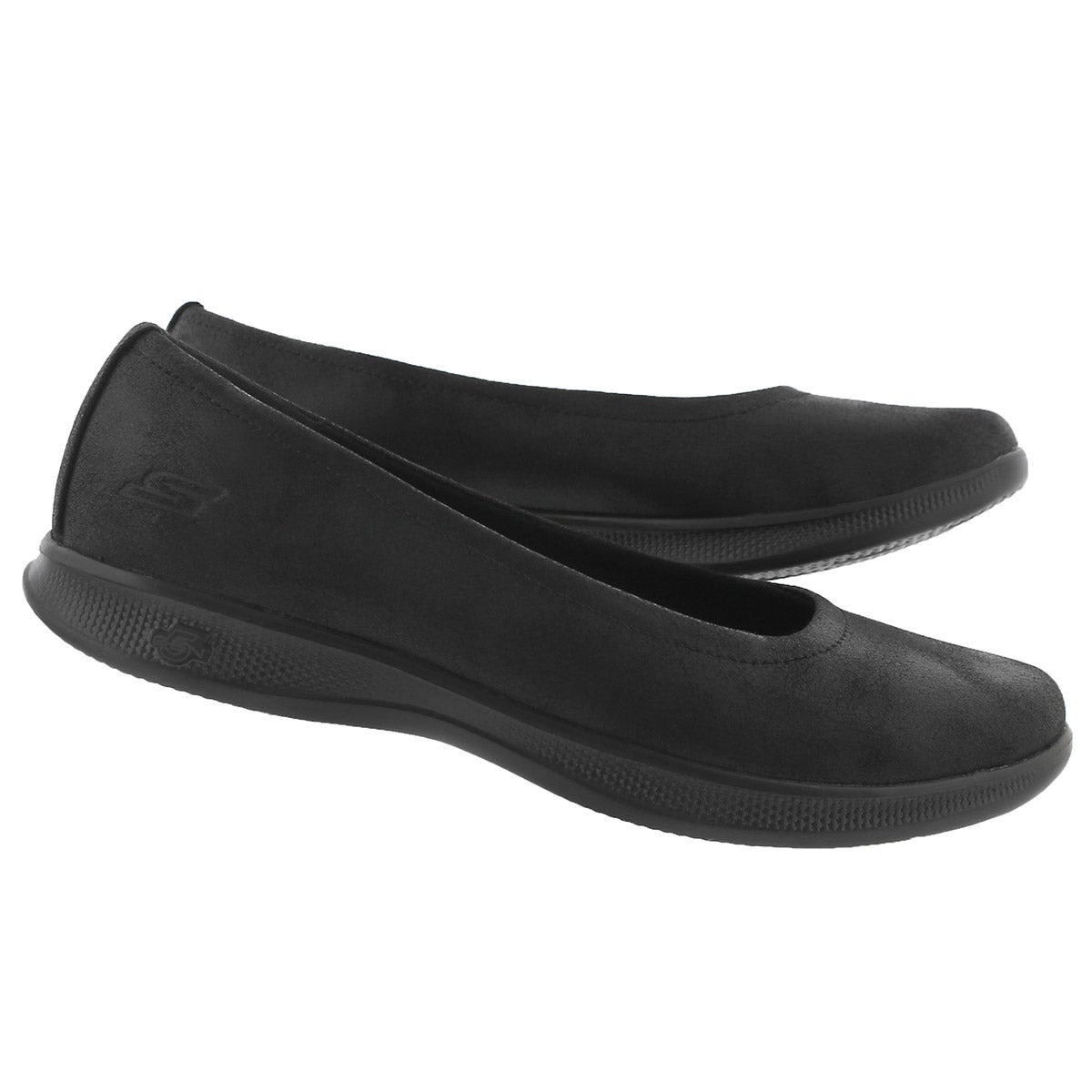 Lds GO Step Lite black casual flat