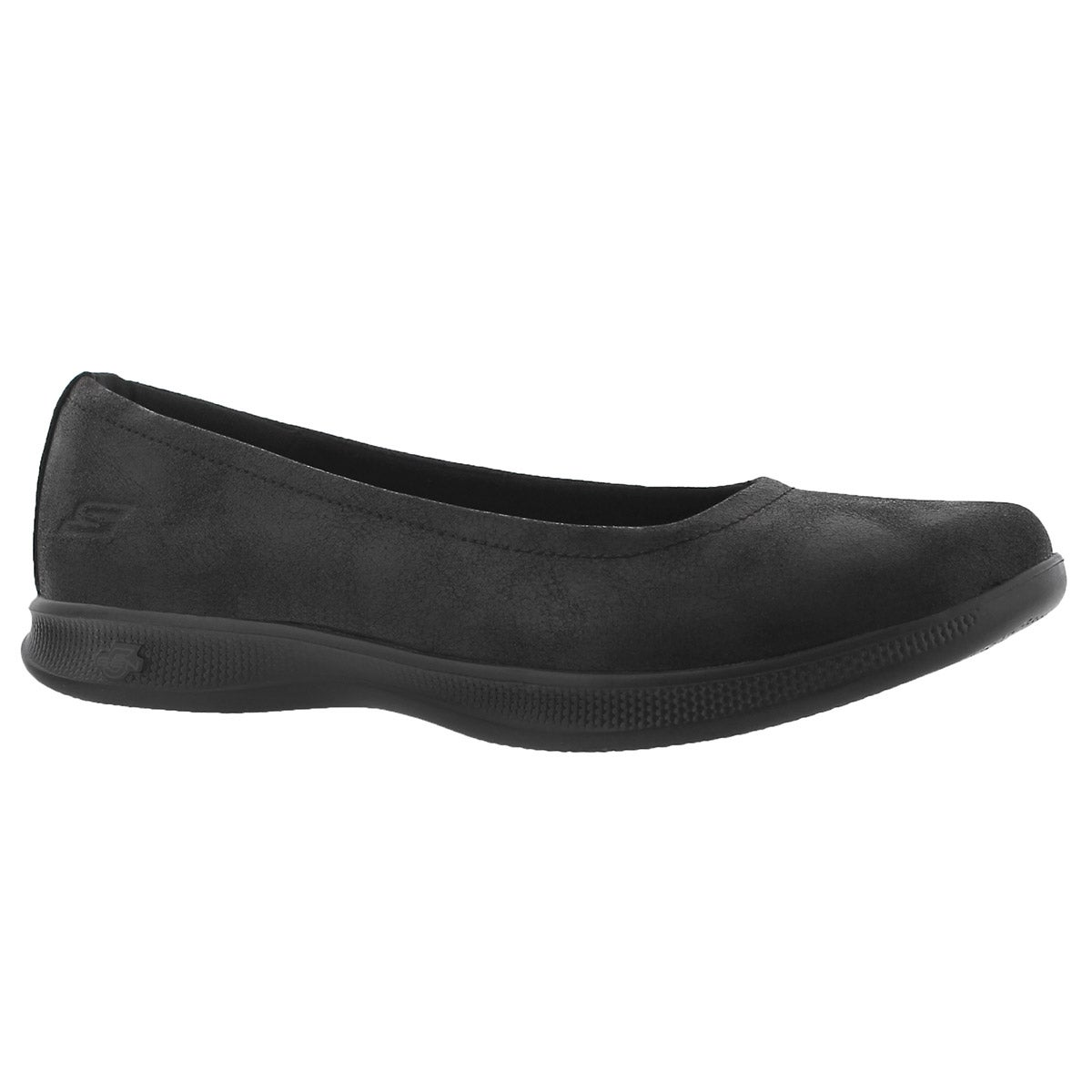 Women's GOstep LITE black casual flats