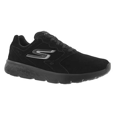 Skechers Women's GOrun 400 black lace up running shoes