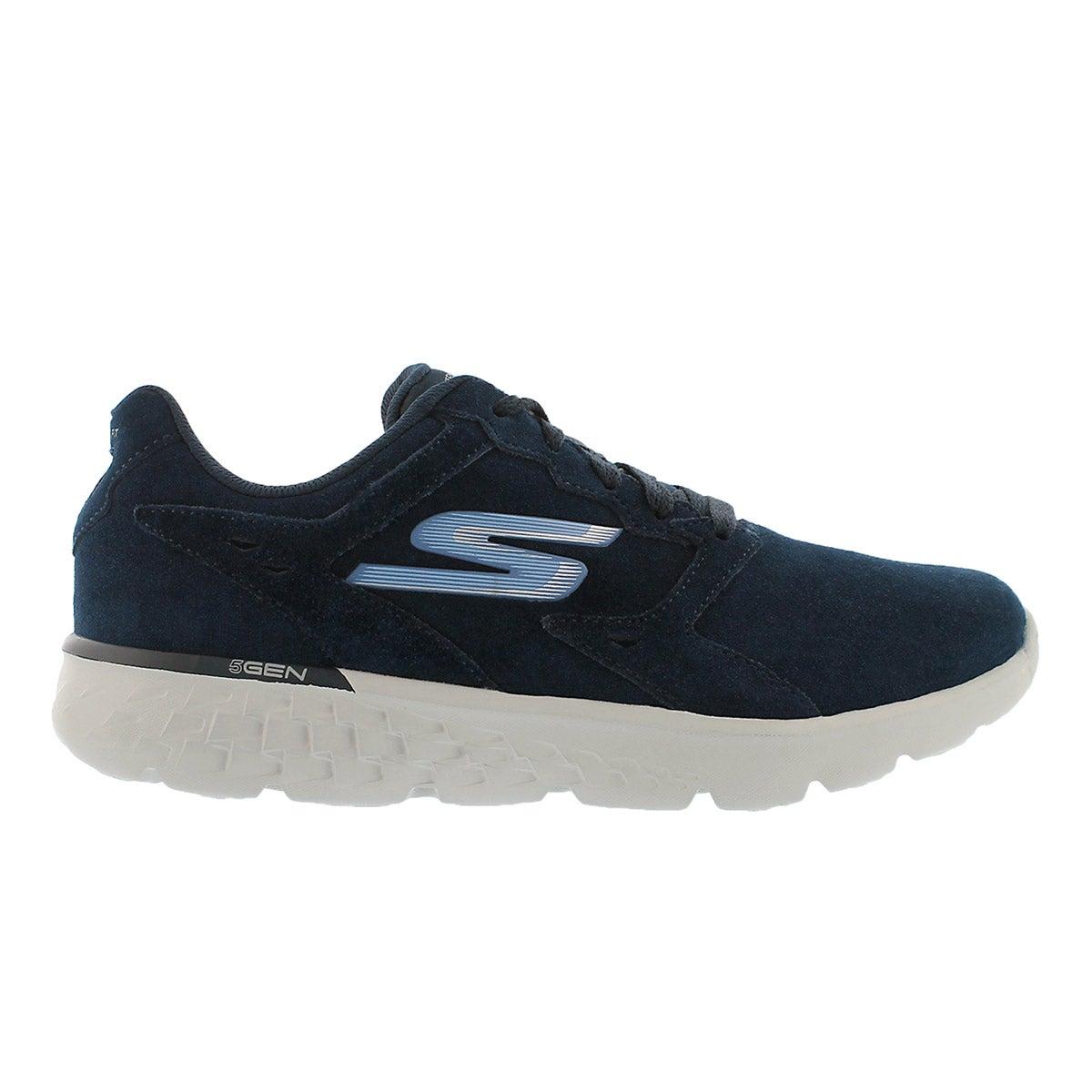 Lds GOrun 400 navy lace up running shoe