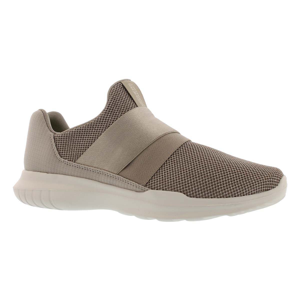 Women's GO RUN MOJO MANIA taupe slip on sneakers