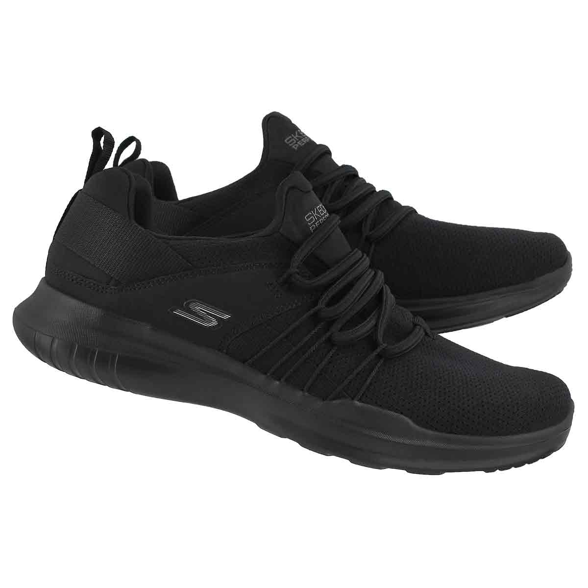 Lds Go Run Mojo black slip on sneaker