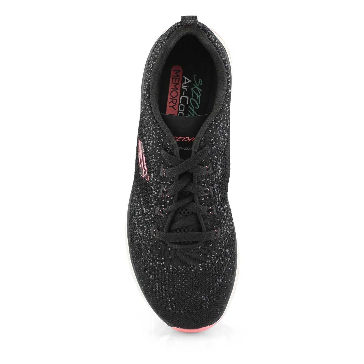 Lds Ultra Groove blk/pnk sneaker