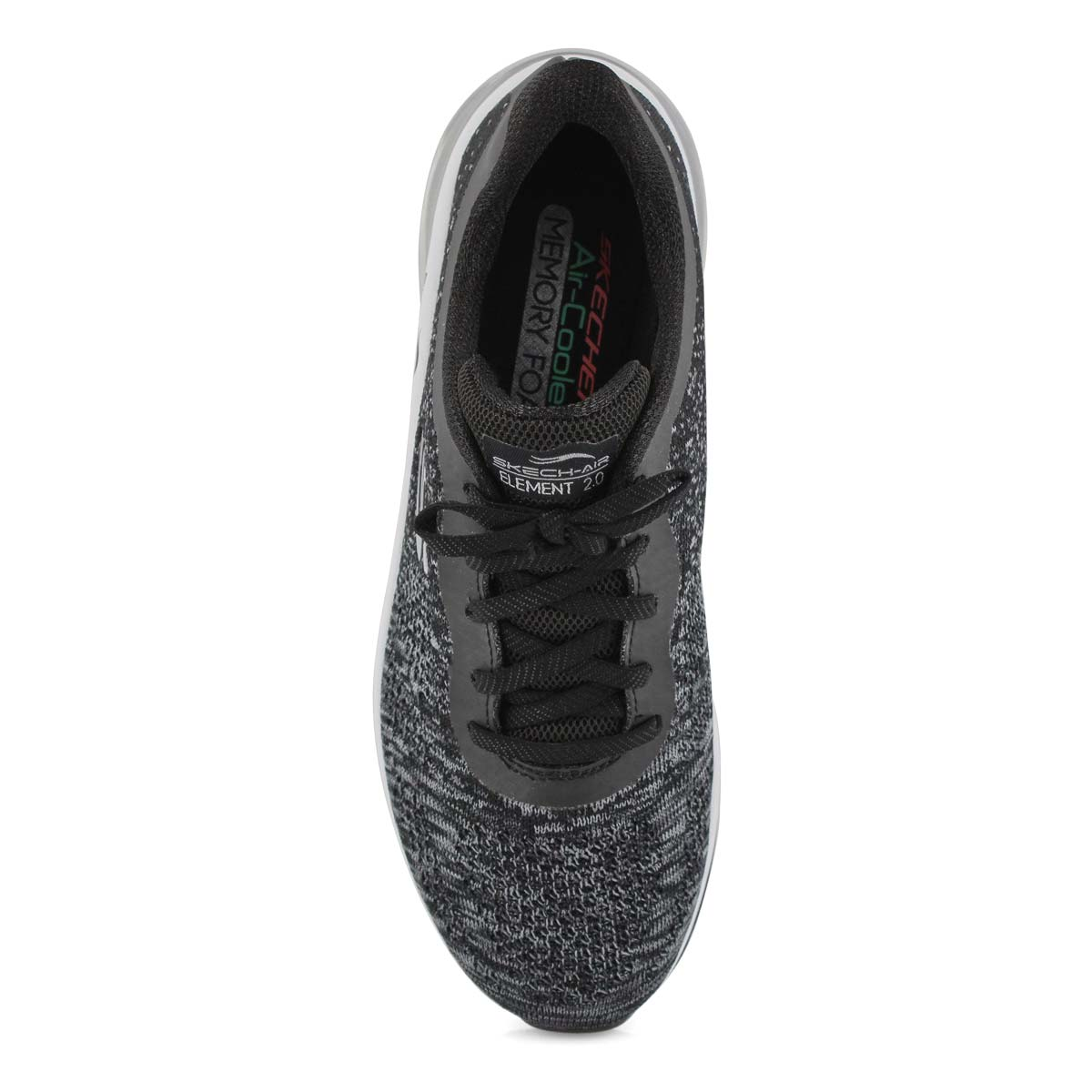 Lds Skech-Air Element 2.0 black sneaker