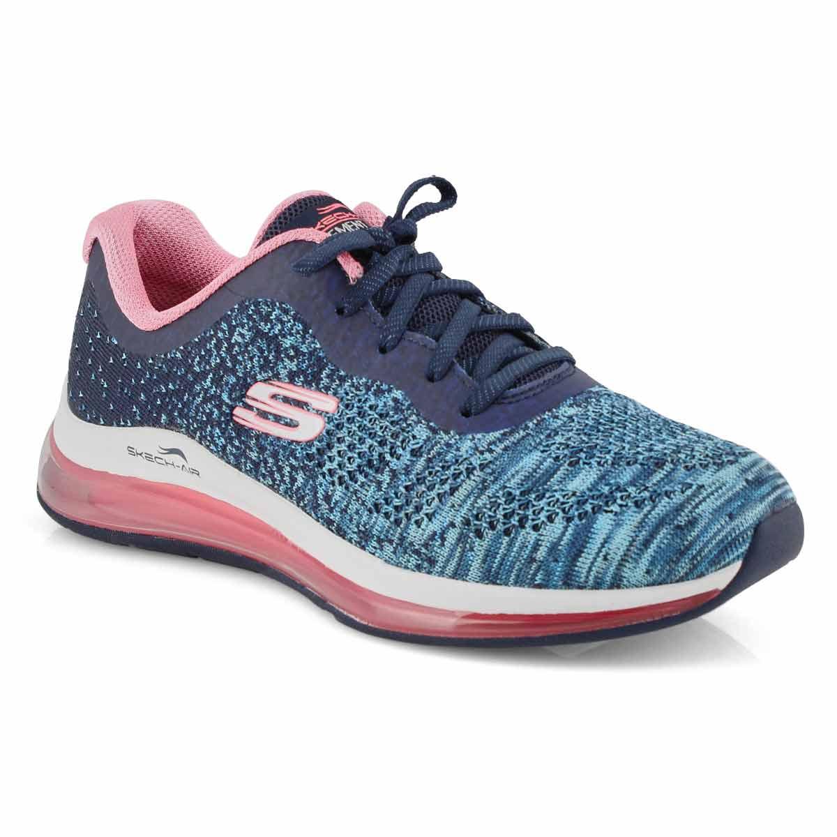 Lds Skech-Air Element 2.0 nvy/pk sneaker