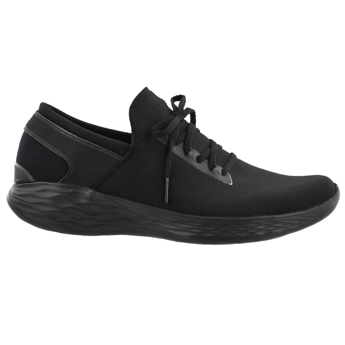 Lds You Inspire black slip on sneaker