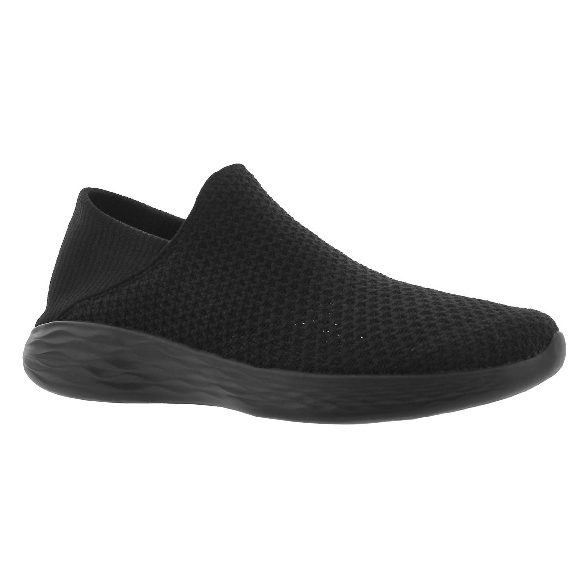 Women's YOU MOVEMENT black slip on walking shoes