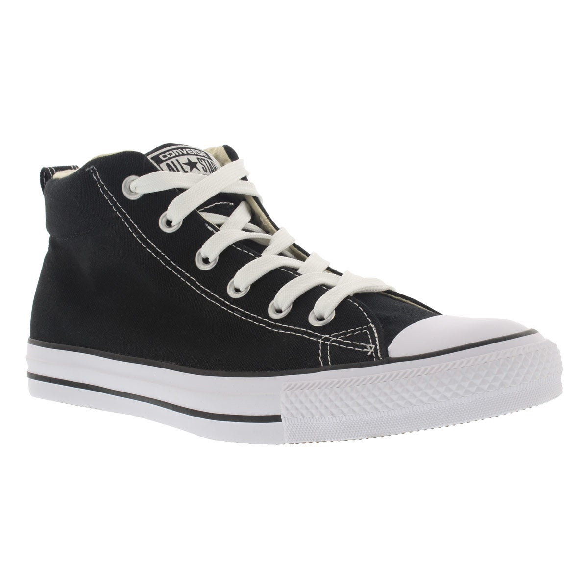 Men's CT ALL STAR STREET canvas black mid sneakers