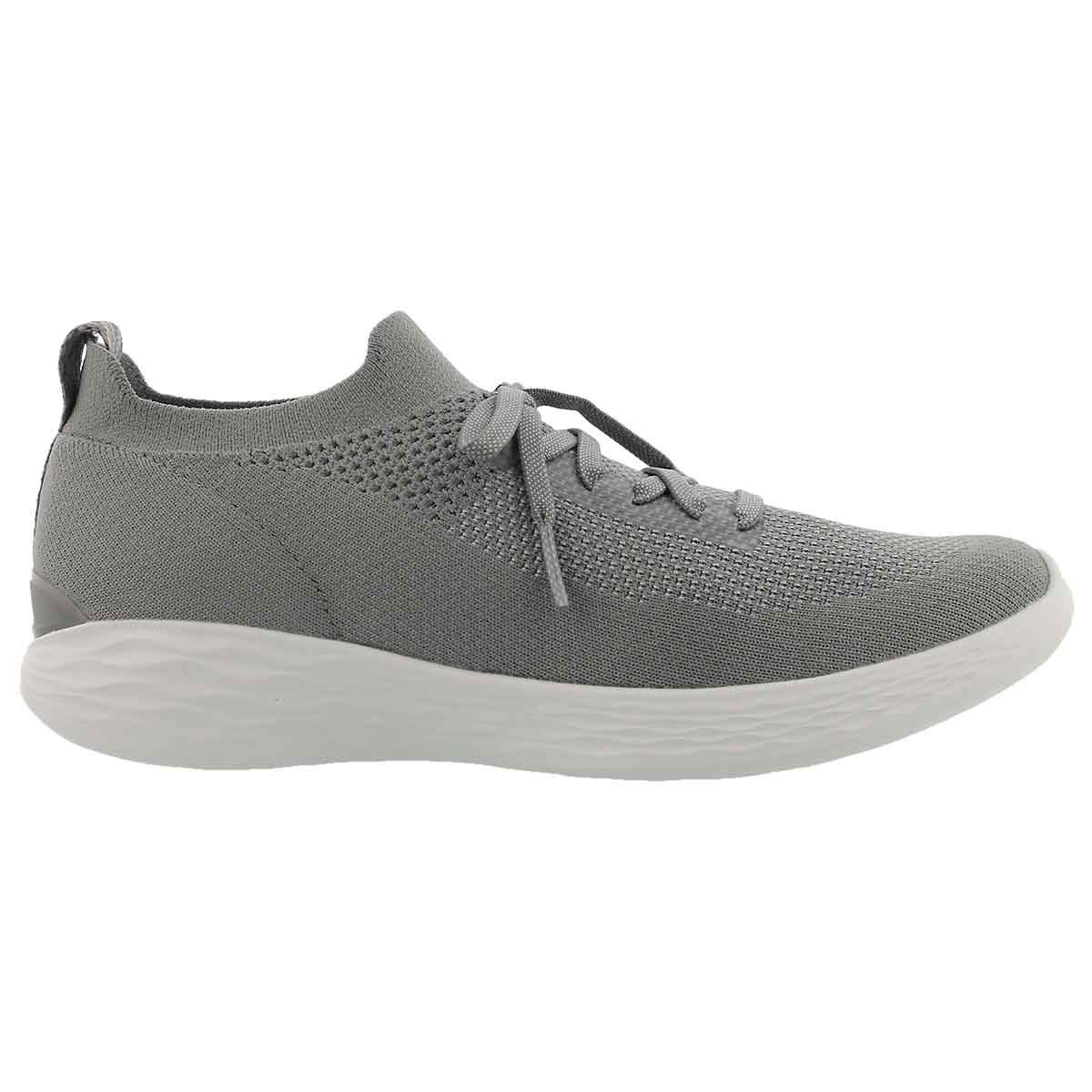 Lds You Shine grey slip on sneaker