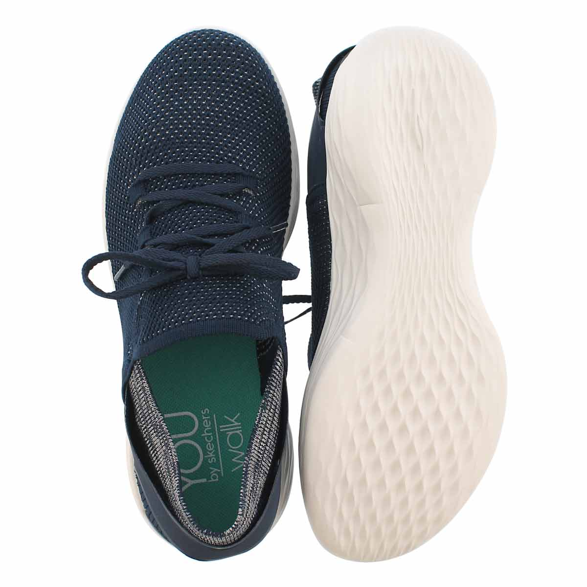 Lds YOU Spirit nvy/wht slip on snkr