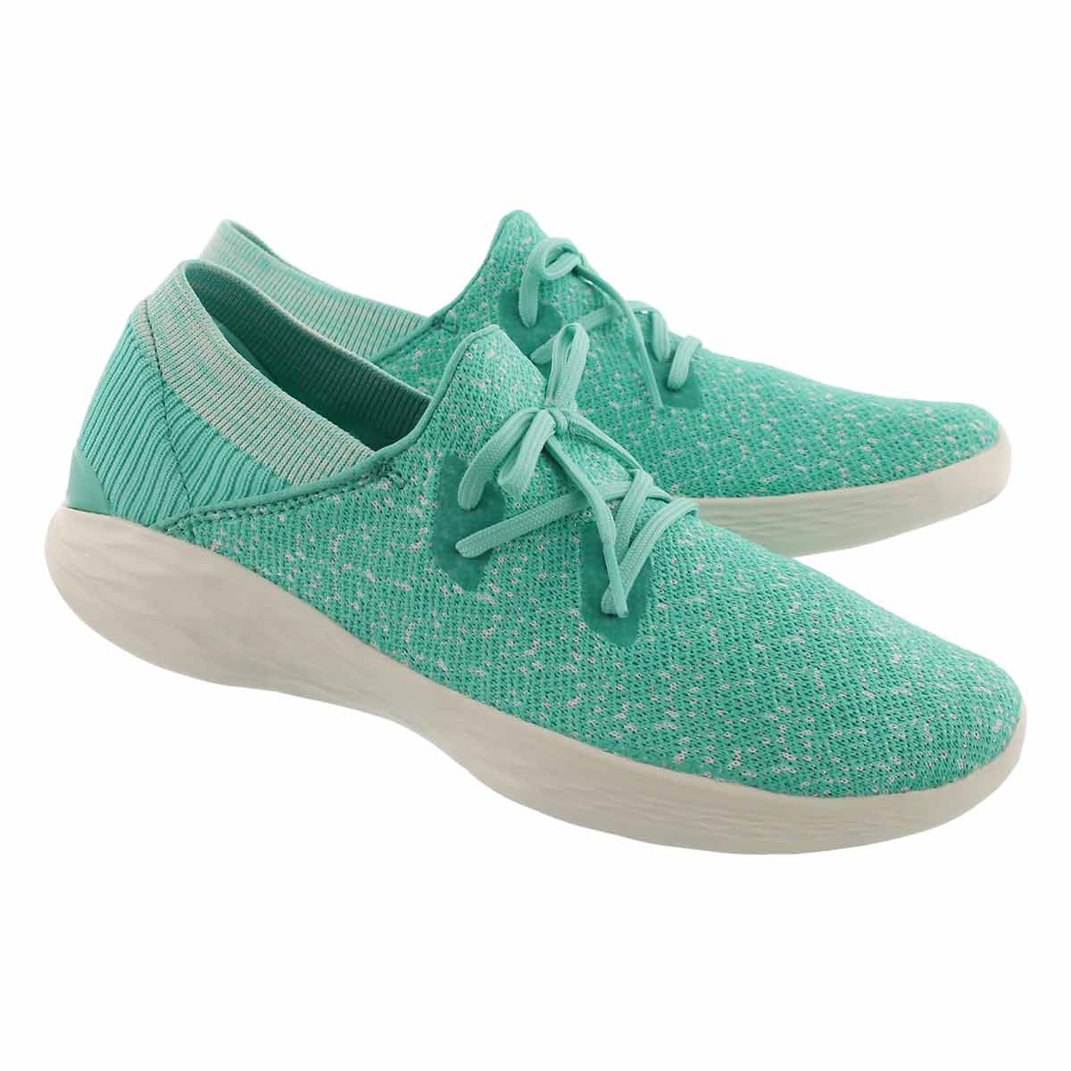 Lds You Exhale mint slip on sneaker