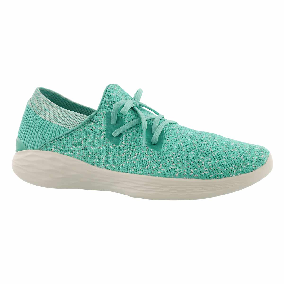 Women's YOU EXHALE mint slip on sneakers