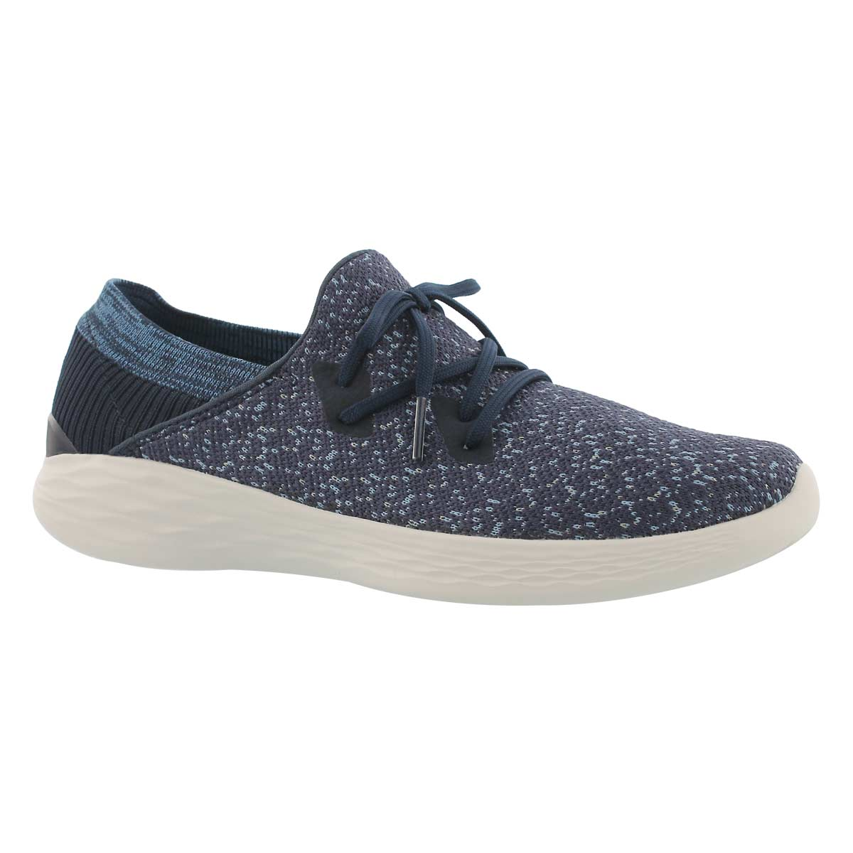 Women's YOU EXHALE navy slip on sneakers