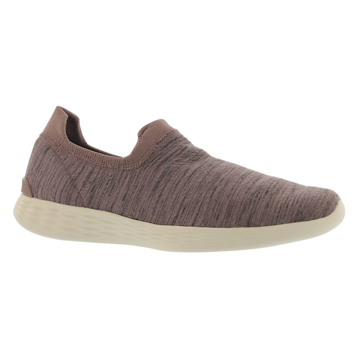 Lds You Define mauve slip on shoe