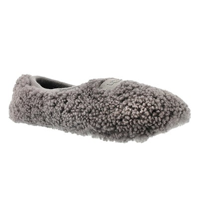UGG Australia Women's BIRCHE grey sheepskin slippers
