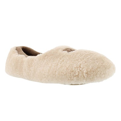 UGG Australia Women's BIRCHE natural sheepskin slippers