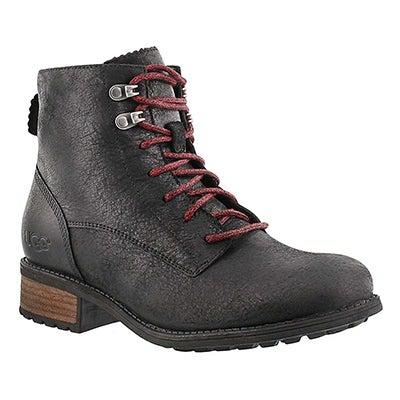 UGG Australia Women's DENHALI black hiker sport boots