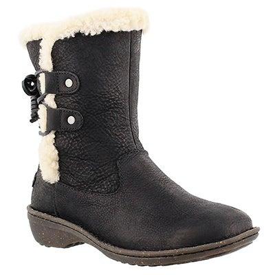 UGG Australia Bottes d'hiver AKADIA, peau de mouton noir, femmes