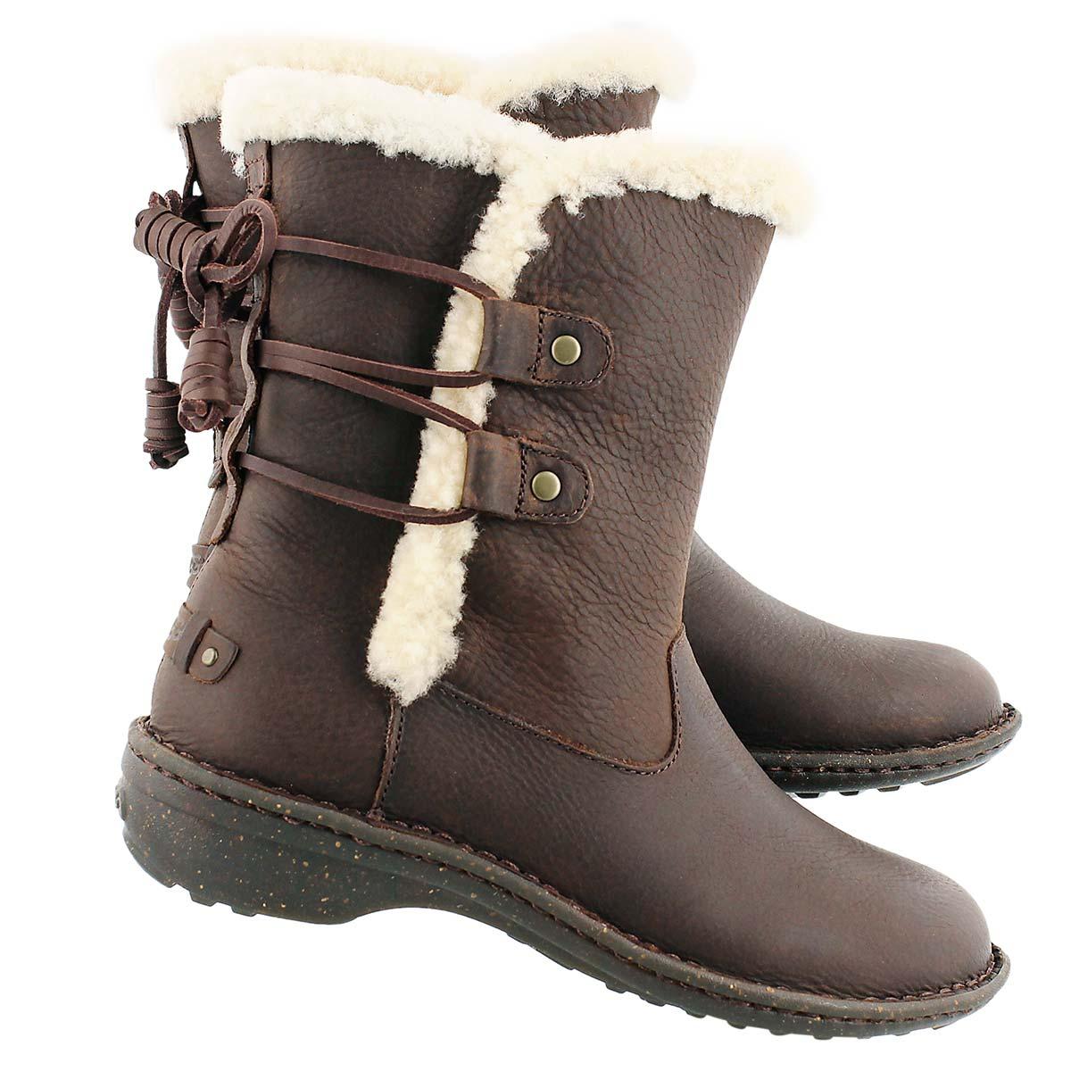 Lds Akadia stout sheepskin winter boot