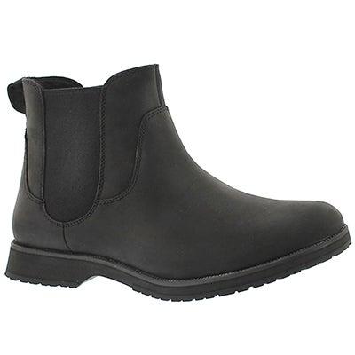 UGG Australia Men's BRISCOE black double gore chelsea boots