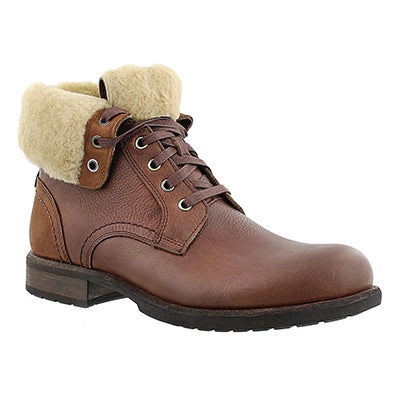 UGG Australia Men's LARUS grizzly casual fold down boots