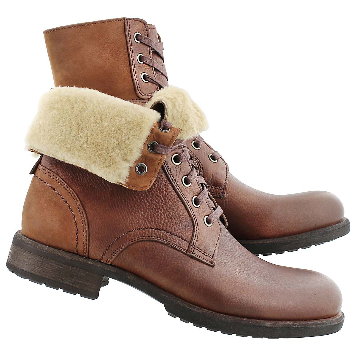 Mns Larus grizzly casual fold down boot
