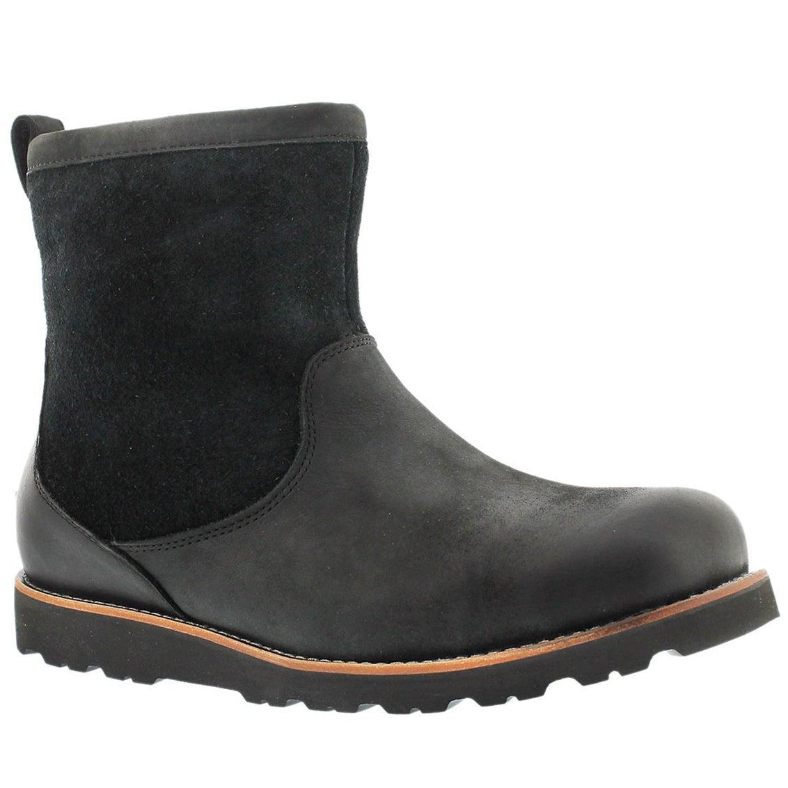 Men's HENDREN TL blk waterproof casual boots