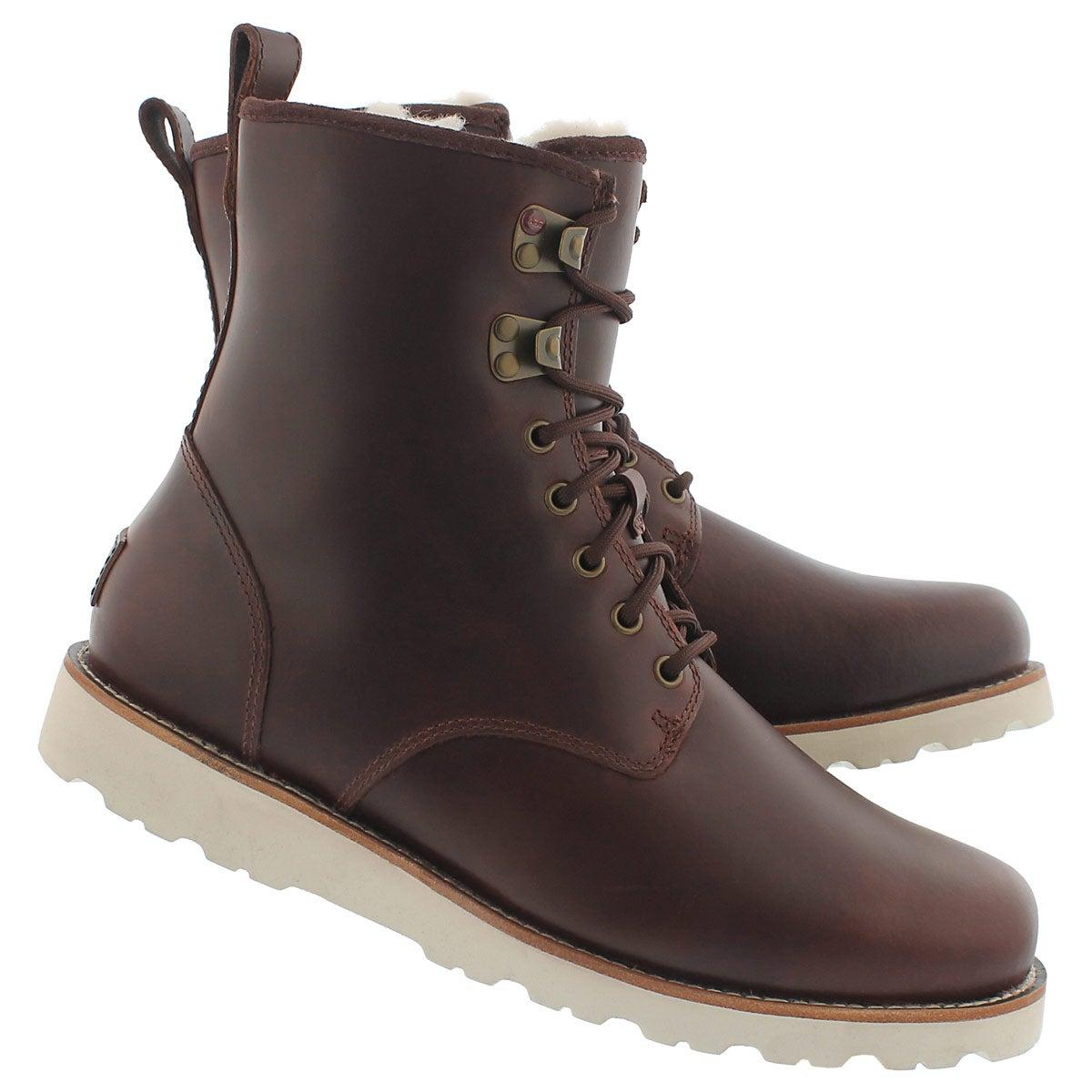 Mns Hannen crdv lthr wtpf casual boot