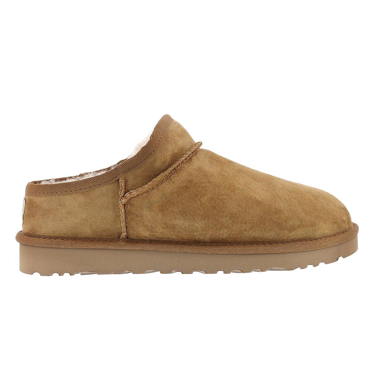 Lds Classic chestnut sheepskin slipper