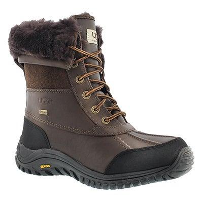 UGG Australia Women's ADIRONDACK II obsidian winter boots