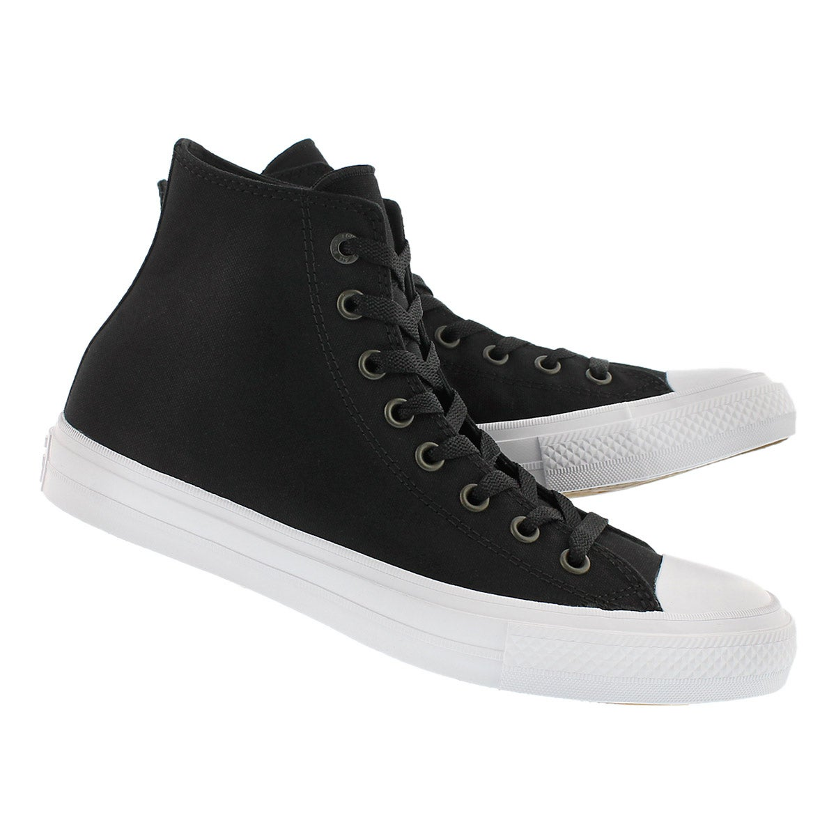 Mns Chuck II Viz Flow black hi top