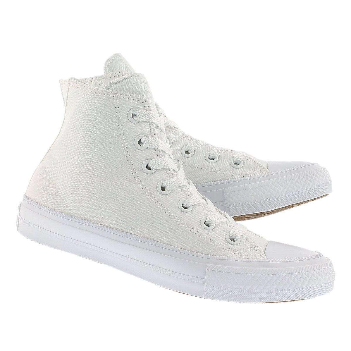 Lds Chuck II Viz Flow white hi top