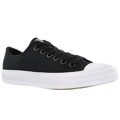 Converse Women's CHUCK II VIZ FLOW black sneakers