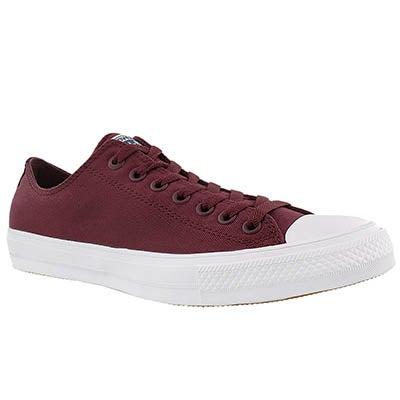Converse Men's CHUCK II VIZ FLOW bordeaux sneakers