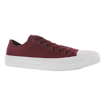 Converse Women's CHUCK II VIZ FLOW bordeaux sneakers