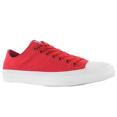 Converse Men's CHUCK II VIZ FLOW red bud sneakers