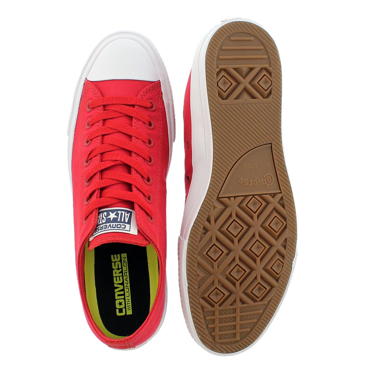 Mns Chuck II Viz Flow red bud sneaker