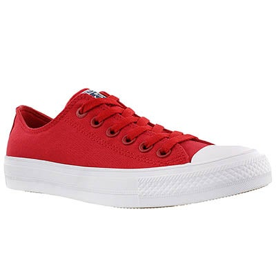 Converse Women's CHUCK II VIZ FLOW red bud sneakers