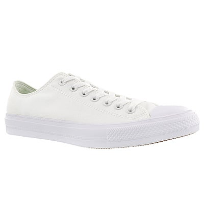 Converse Men's CHUCK II VIZ FLOW white sneakers