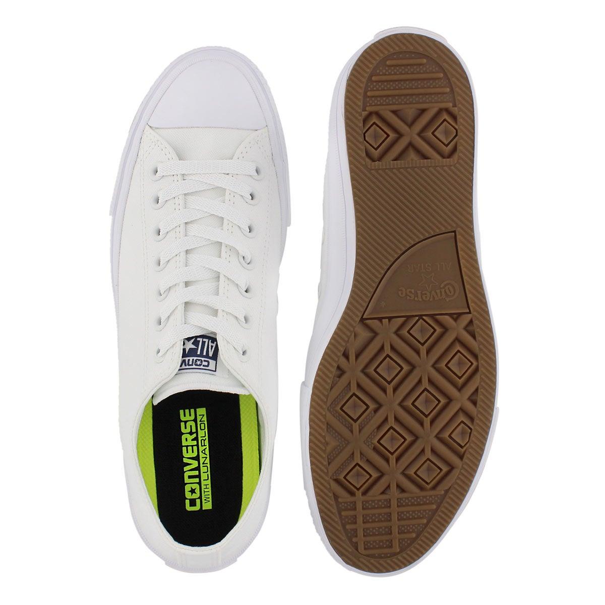 Mns Chuck II Viz Flow white sneaker