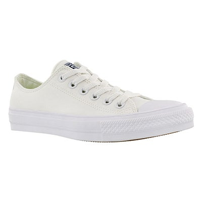 Converse Women's CHUCK II VIZ FLOW white sneakers