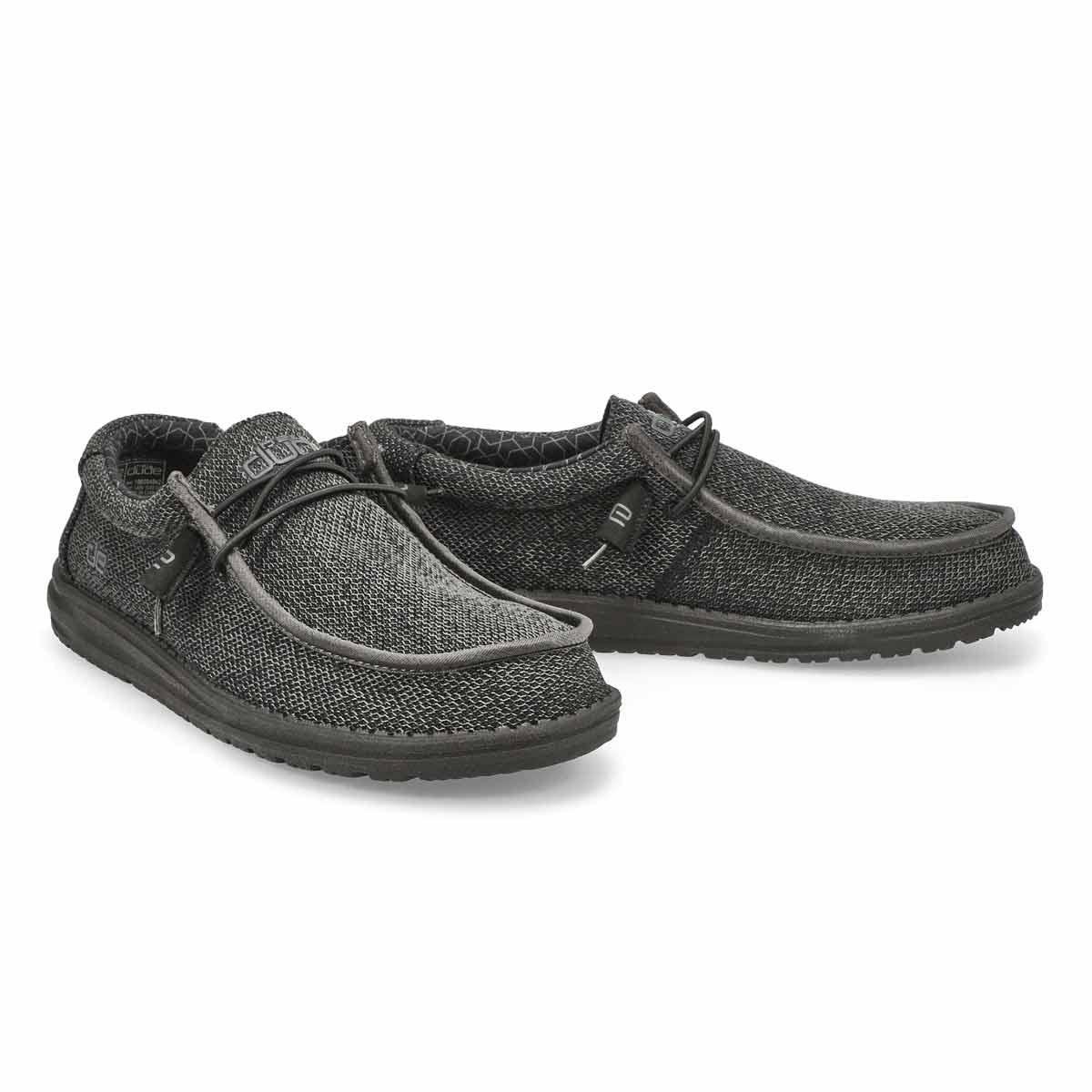 Mns Wally Sox Micro black casual shoe