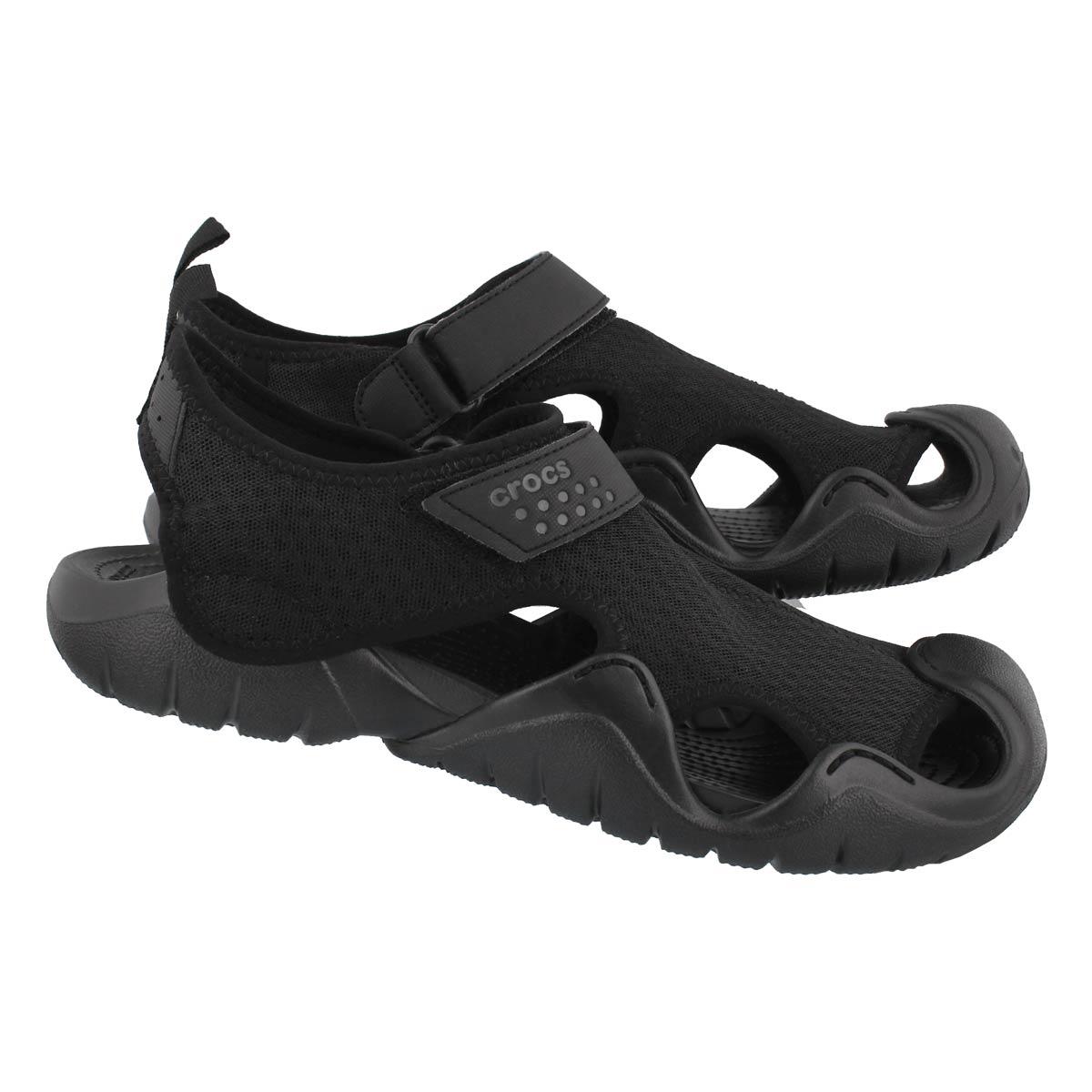 Mns Swiftwater blk/blk fisherman sandal