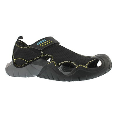 Mns Swiftwater blk/char fisherman sandal