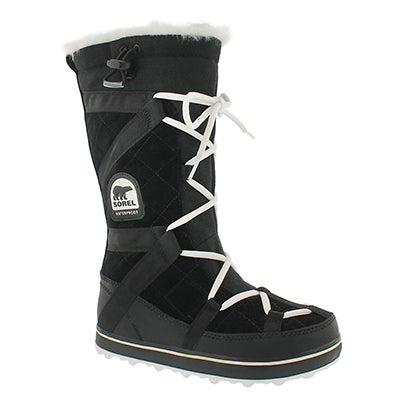 Lds Glacy Explorer blk winter boot