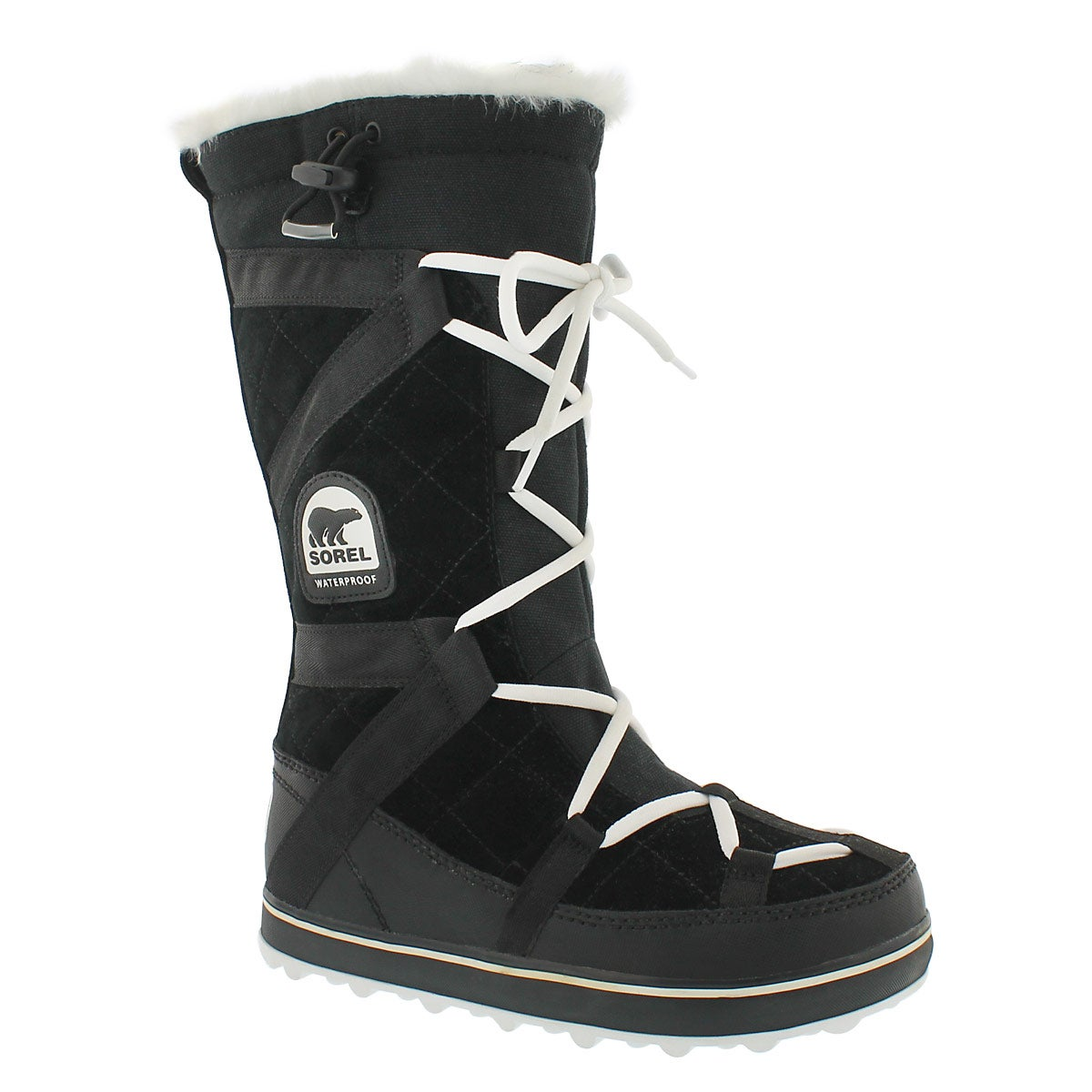 Women's GLACY EXPLORER black winter boots